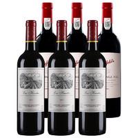 百亿补贴:LAFITE 拉菲 巴斯克花园 干红葡萄酒 750ml*3支 +奔富 寇兰山 干红葡萄酒 750ml*3支