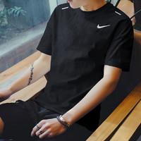 NIKE 耐克CJ5421-010 圆领短袖运动T恤