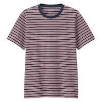 限尺码:MUJI 无印良品 ABB01A0S 条纹短袖T恤