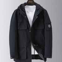 Fapai 法派 J01126020358 男款时尚都市风衣