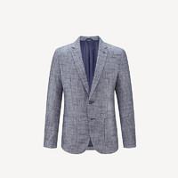历史低价:HLA 海澜之家 HWXAD1R007T 男士修身西服