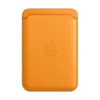 新品发售:Apple 苹果 iPhone 专用 MagSafe 皮革卡包 花菱草色