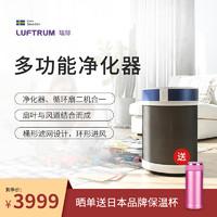 LUFTRUM瑞际空气净化器多功能净化器电风扇落地扇台面扇去甲醛