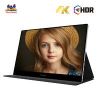 新品发售:ViewSonic 优派 TD1601-4K 15.6英寸便携显示器(3840x2160)