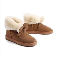 双11预售:BeLLE 百丽 20591DD0 羊毛休闲保暖雪地靴