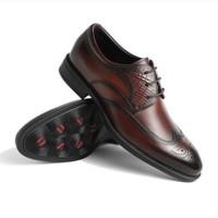 双11预售:BeLLE 百丽 6CC01CM9 男士商务正装牛皮革鞋