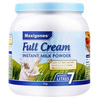 苏宁SUPER会员:Maxigenes 美可卓 全脂高钙成人奶粉 1kg