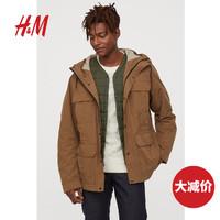 H&M 0762169 男士工装机能风夹克