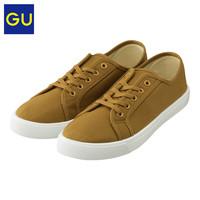 限35、37码:GU GU317498100 女士低帮系带运动鞋