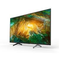 SONY 索尼 KD-49X8000H 49英寸 4K 液晶电视
