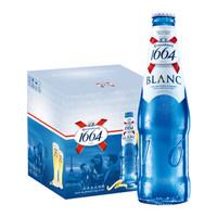 京东PLUS会员: kronenbourg 克伦堡凯旋 1664 BLANC 白啤 330ml*9瓶