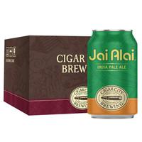 雪茄城 (CIGAR CITY) 回力球IPA啤酒355ml*6听 美国进口 精酿啤酒 *2件