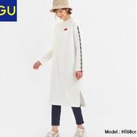 GU 极优 322453 女装中长款连衣裙