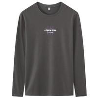 GOLDFARM 高梵 WPGTX98111 男士纯棉长袖T恤