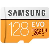 SAMSUNG 三星 128GB TF存储卡 U3 C10 4K EVO升级版
