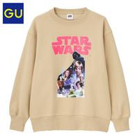 GU 极优 324746 星球大战系列薄绒卫衣