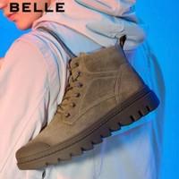 双11预售:BeLLE 百丽  6SL01DD9 男子马丁靴