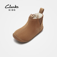双11预售:clarks 其乐 儿童保暖雪地靴