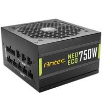 Antec 安钛克 NE750 金牌 电脑机箱电源750W(双8pin/全日系电容/无声静音)