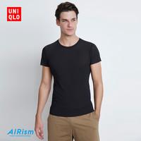 UNIQLO 优衣库 425388 AIRism网眼圆领短袖T恤