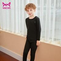 MiiOW 猫人 儿童保暖秋衣秋裤套装