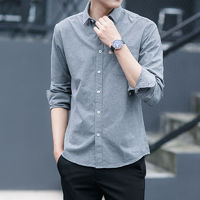 衬衫 O10 男士长袖衬衣