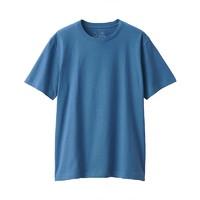 MUJI 无印良品 男式圆领短袖T恤
