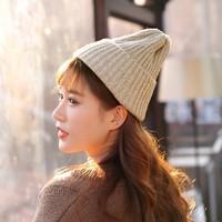 柏茵美  MZ-2350 纯色针织帽