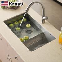 双11预售:KRAUS克劳思 CKHU103-7843 不锈钢洗碗槽