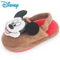 Disney 迪士尼 儿童冬季加绒棉拖鞋