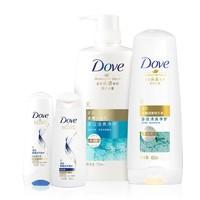 Dove 多芬 洗护套装(氨基酸洗发水 700ml+护发素400ml+小样100ml*2瓶) *2件 +凑单品