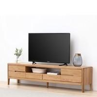 双11预售:原始原素 A5084 纯实木电视柜 1.2*0.36*0.45m(单门三抽屉)