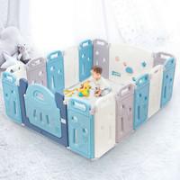 京东PLUS会员:AUBY 澳贝 儿童婴儿游戏围栏14+2 +凑单品