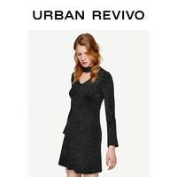 URBAN REVIVO WG03S9FN2005 女装针织连衣裙
