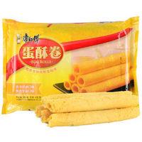 Tingyi 康师傅 蛋酥卷鸡蛋卷 奶油芝麻混合口味 432g *5件