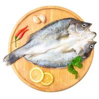 品珍鲜活 海鲈鱼(去鳞去鳃去内脏)净重400g*3包