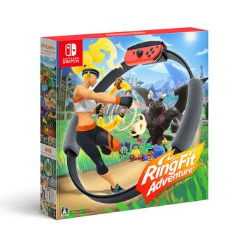 Nintendo 任天堂 Switch主机游戏 健身环大冒险 中文