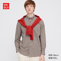 UNIQLO 优衣库 431469 男士格子衬衫