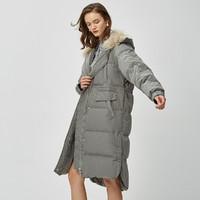 Eifini/ 伊芙丽 118B186031 女士保暖加厚羽绒服
