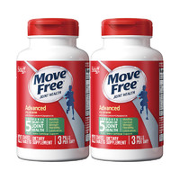 旭福Schiff MOVE FREE 氨糖软骨素 绿瓶 120粒*2 *2件