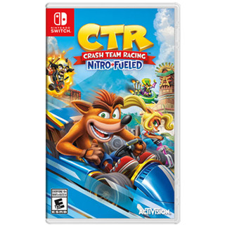 Crash Team Racing 古惑狼赛车 Nitro-Refueled 火箭加速 CTR 重制版 switch游戏