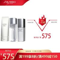 资生堂 (Shiseido)男士三件套礼盒(洁面+护肤水+乳+礼盒*1)(补水 男士 滋润 渗透)