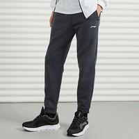 双11预售:LI-NING 李宁 AKLQA37 男款加绒运动裤