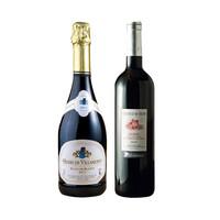 88VIP、双11预售:勃艮第 维拉梦白中白气泡酒 750ml+帝悦安茹 干红葡萄酒 750ml