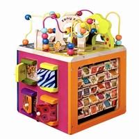 双11预售: B.toys 木立方 绕珠百宝箱玩具