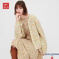 21日0点、双11预售:Uniqlo 优衣库 432088 女装粗针织圆领开衫