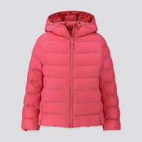 双11预售:UNIQLO 优衣库 WARM PADDED 418599 女童轻型保暖外套