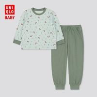 双11预售:UNIQLO 优衣库 429860 儿童睡衣套装