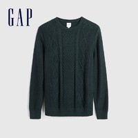 21日0点、双11预售: Gap 477917 男士圆领针织衫