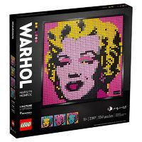 百亿补贴:LEGO 乐高 马赛克艺术画  31197  安迪·沃霍尔的玛丽莲·梦露